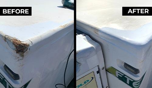 Perth Fibreglass repairs